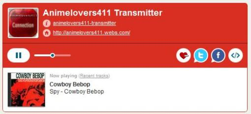 Animelovers411 Transmitter - Online Radio